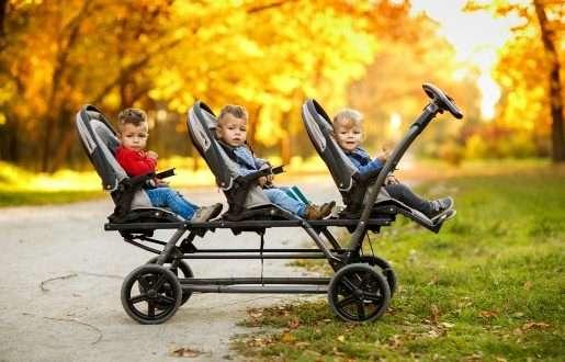 best triple stroller